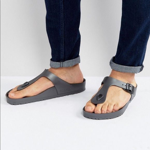 7f896781820f2 Birkenstock Shoes - 🍄 Women s Gizeh Eva Anthracite Thong Sandal 🍄